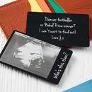 Baby Scan Wallet Keepsake Card