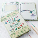'Bump To Birthday' Journal