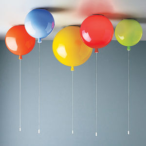 Memory Balloon Ceiling Light - children's room