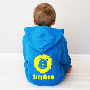 Personalised Kids Lion Onesie - children's nightwear