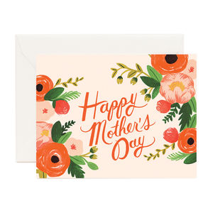 Floral Happy Mothers Day Card - whatsnew