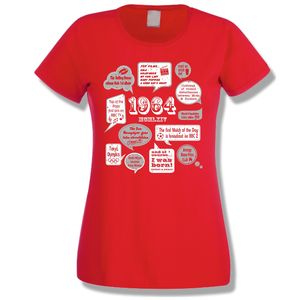 Events Of 1964 51st Birthday Ladies T Shirt
