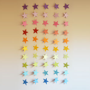 Rainbow Stars Wall Hanging - mobiles
