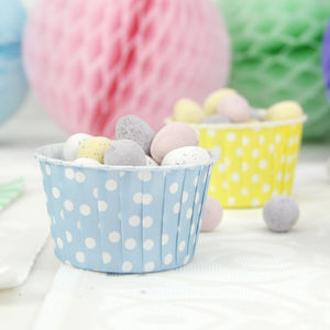 Polka Dot Easter Serving Cups