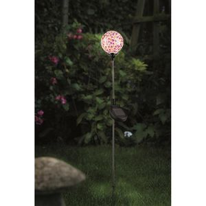 Mosaic Border Ball Solar Garden Light - lights & lanterns