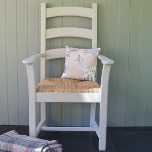 Large Shaker Carver Hand Painted In Any Colour - dining chairs