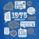 Events Of 1975 40th Birthday Ladies T Shirt