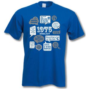 Events Of 1975 40th Birthday T Shirt