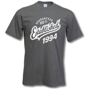 'Established 1994' 21st Birthday T Shirt
