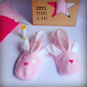 Make Your Own Bunny Slippers Craft Kit