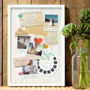Personalised Memory Board Print