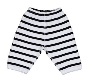 White And Black Striped Trouser - trousers & leggings