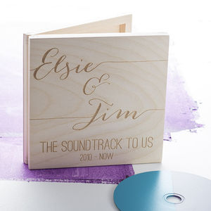 Ultimate Soundtrack CD Keepsake Box - music inspired home accessories