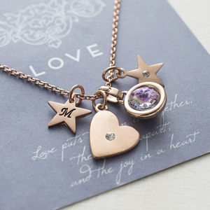 Design Your Own Heart Necklace - gifts under £25 for her