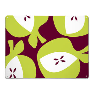 Apples Design Large Magnetic Notice Board