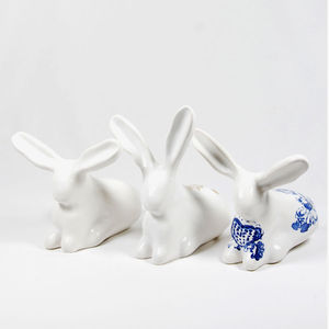 Bunny Figurines - ornaments