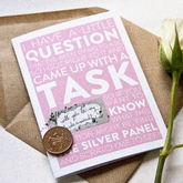 Scratch Off 'Will You Be My Bridesmaid?' Card - styling your day