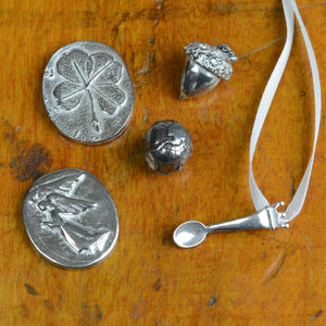 Pewter 'Wisdom' Message Charms - tokens & keep sakes