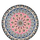 Nomadic Pink And Blue Circular Patterned Rug