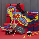 Comic Superhero Party Photo Booth Props