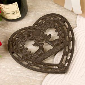 Cast Iron Stag Trivet - kitchen