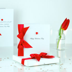 Bedazzled Personalised Valentine's Card - seasonal cards