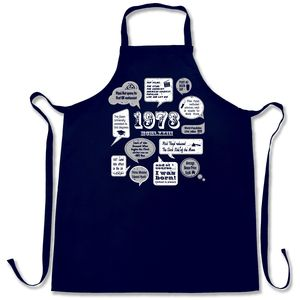 Events Of 1973 42nd Birthday Apron