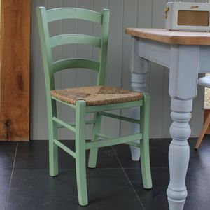 Italian Bistro Chair In Any Colour