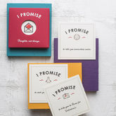 Personalised 'I Promise' Cards - valentine's day