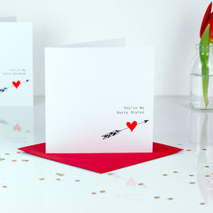 You're My Personalised Name Love Valentines Card
