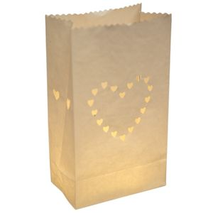 Love Heart Paper Lantern Decorations - room decorations