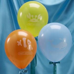 Sea Themed Party Balloons
