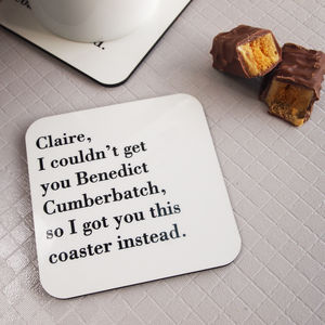 I Couldn't Get You… Cocktail, Coffee, Gin Coaster