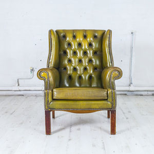 Circa 1950s Wing Back Armchair - furniture