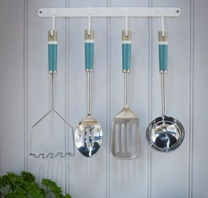 Set Of Four Kitchen Utensils And Hanger