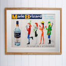 Original Vintage 1950s Marie Brizard Advert