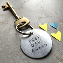 'Best Dad Award' Key Ring