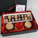 Personalised Gift Box Of 'I Love You' Chocolates