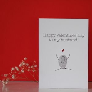 Husband Valentines Day Card - valentine's cards