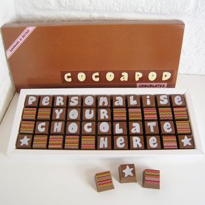 Personalised Chocolates In Large Box - chocolates