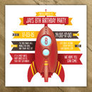 Personalised Childrens Party Invites