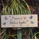 Bespoke Butterfly Garden Sign