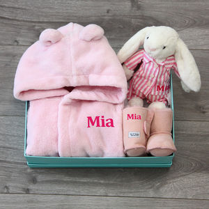 Personalised Girls My 1st Sleepover Gift Set - gifts for babies