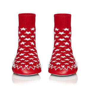Counting Stars! Kids Moccasin Slippers