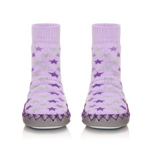 Lilac Twilight! Kids Moccasin Slippers