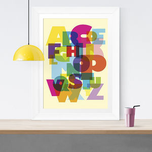 Abc Children's Fine Art Print