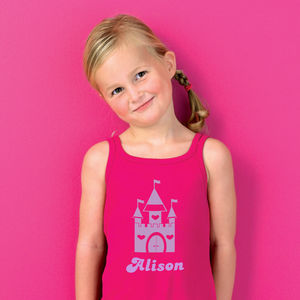 Girl's Personalised Princess Dress