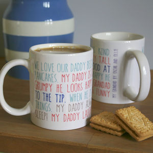 Personalised My Daddy Mug - what's new