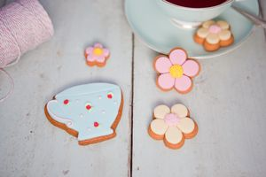 Tea Time Mini Biscuit Gift Box - tea for two