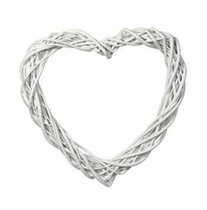 Large Willow Wedding Heart Wreath